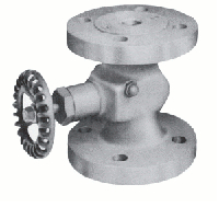 tape or cable block valve