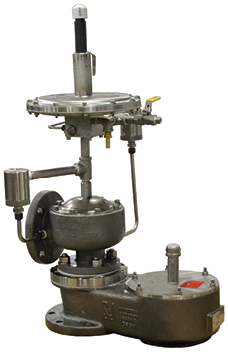 pilot operated pressure and weight loaded vacuum relief photo